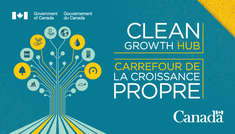 Clean Growth Hub Logo