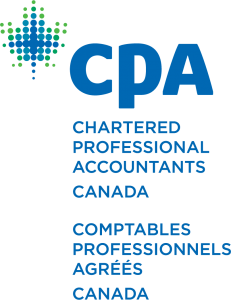Chartered Professional Accountants Canada Logo - vertical