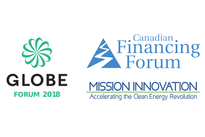 GLOBE Forum 2018, Canadian Financing Forum, Mission Innovation - Logo Cluster