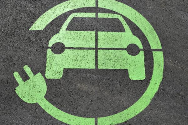 Electric charging symbol