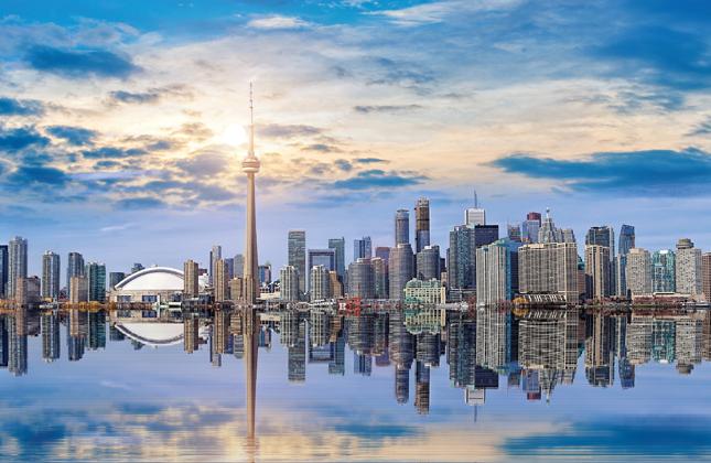 Toronto Skyline Banner