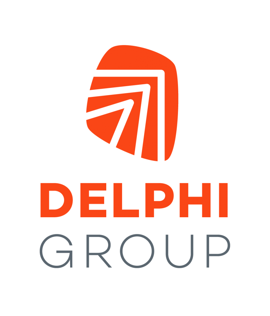 Delphi Group Logo Stacked Vertically