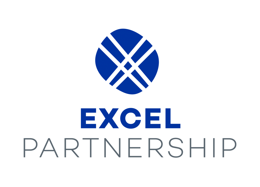EXCEL Partnership Logo Stacked Vertically