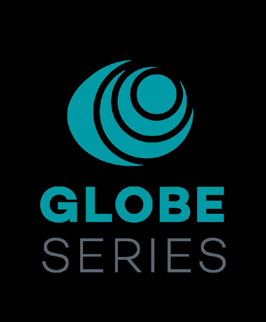 GLOBE Series Logo Stacked Vertically
