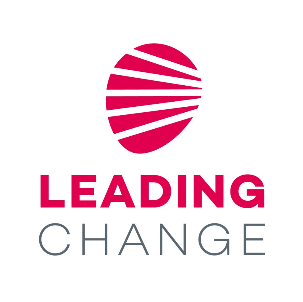 Leading Change Logo Stacked Vertically